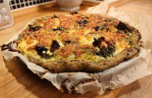 Lækker Grov Tærte Med Broccoli Og Kylling