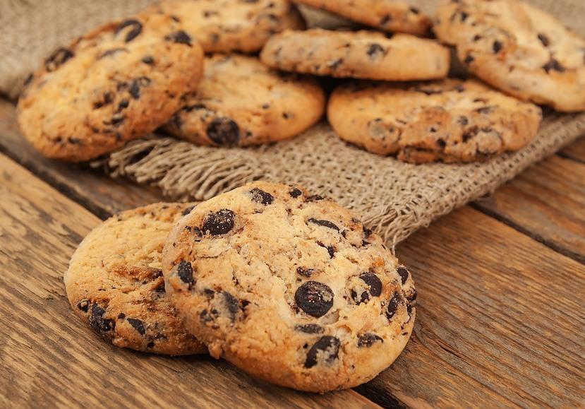 Kokos-chokolade Cookies