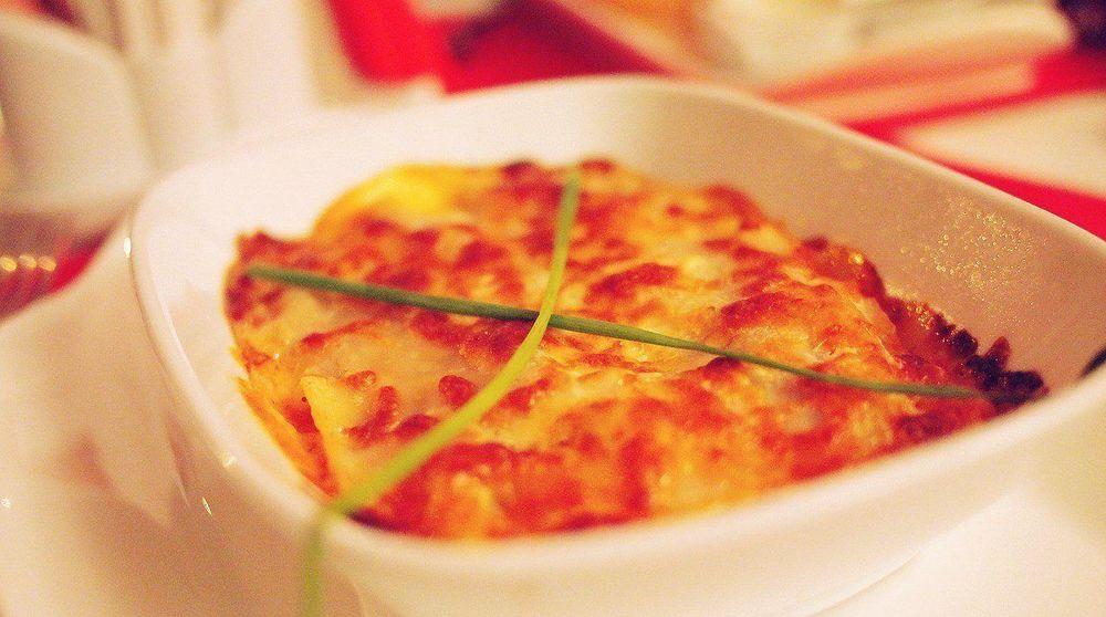 Lasagne Med Søde Kartofler
