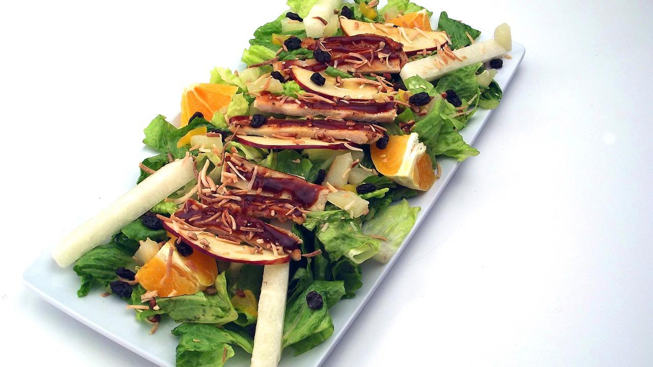 Salat Med Appelsin Og Honningristede Valnødder