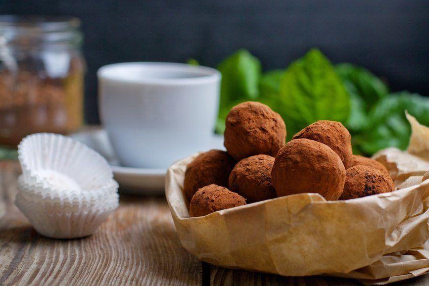 Lækre Proteinkugler Med Chokolade Og Appelsin