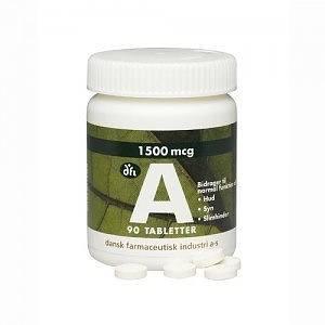 tørre slimhinder vitamin