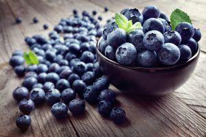 Blåbær - fyldt med vitamin C