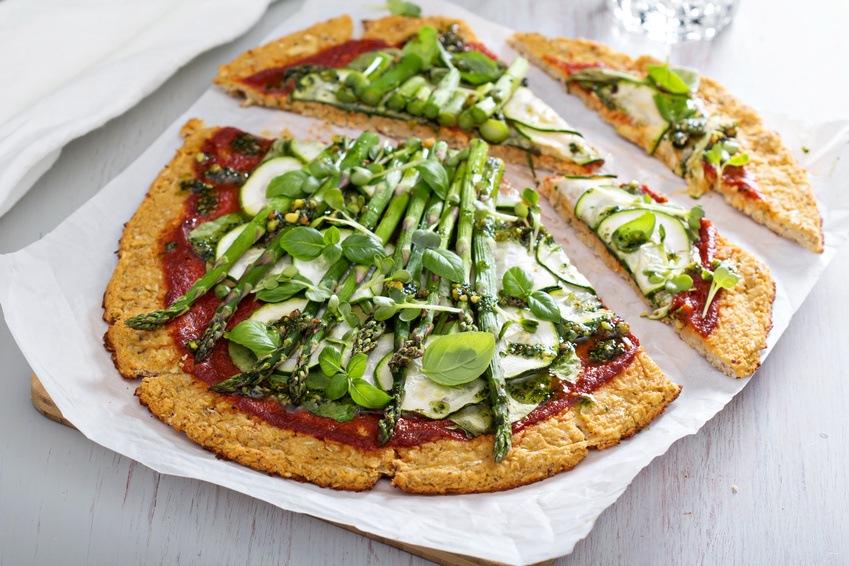 Pizza-opskrift Med Blomkålsbund