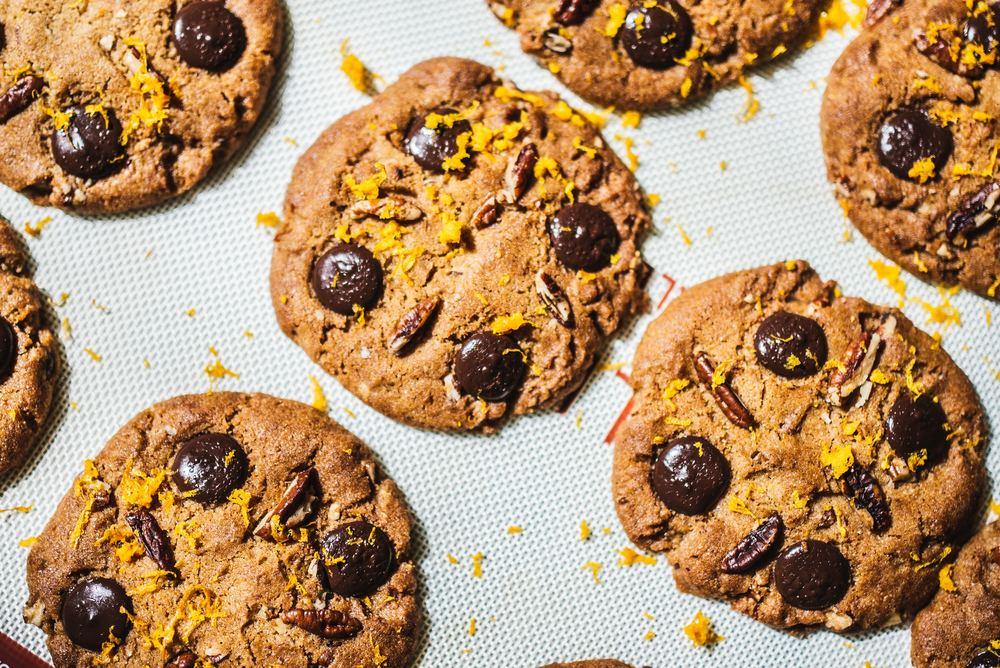 Appelsin Chokolade Cookies – Uden Raffineret Sukker