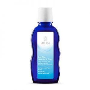 Weleda one step cleanser and toner til normal hud