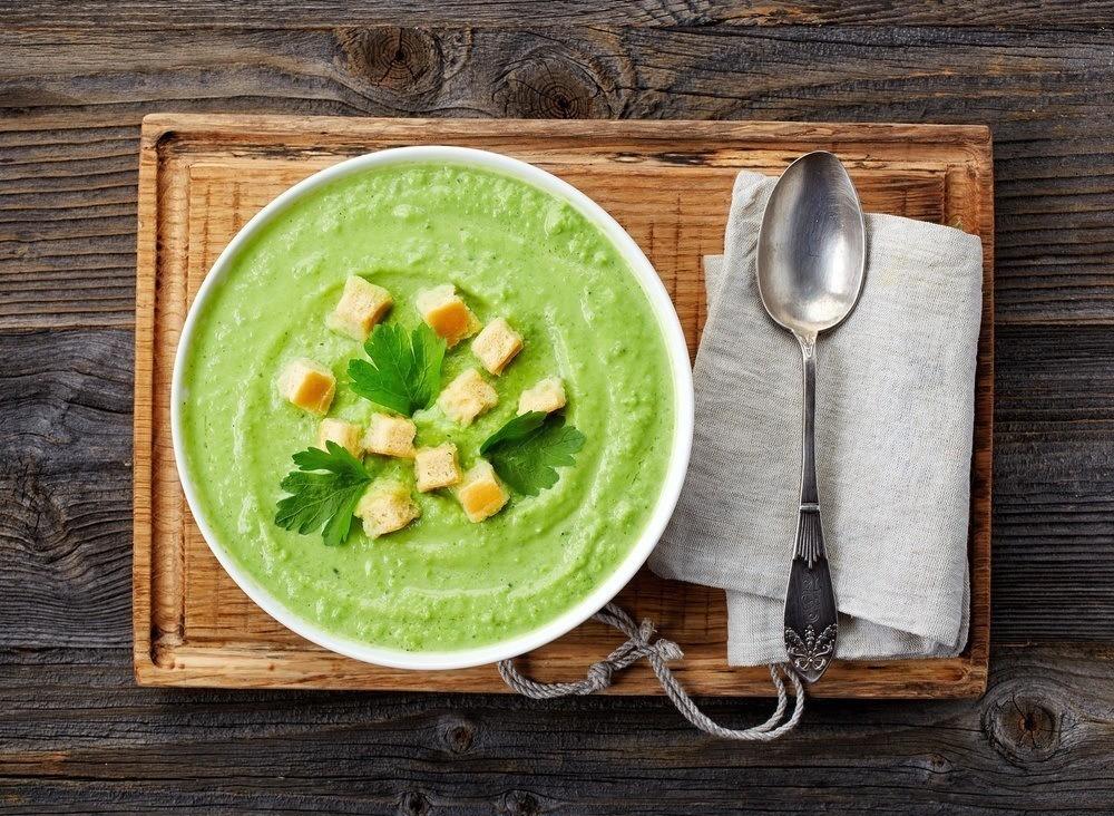 Edamamebønne Suppe