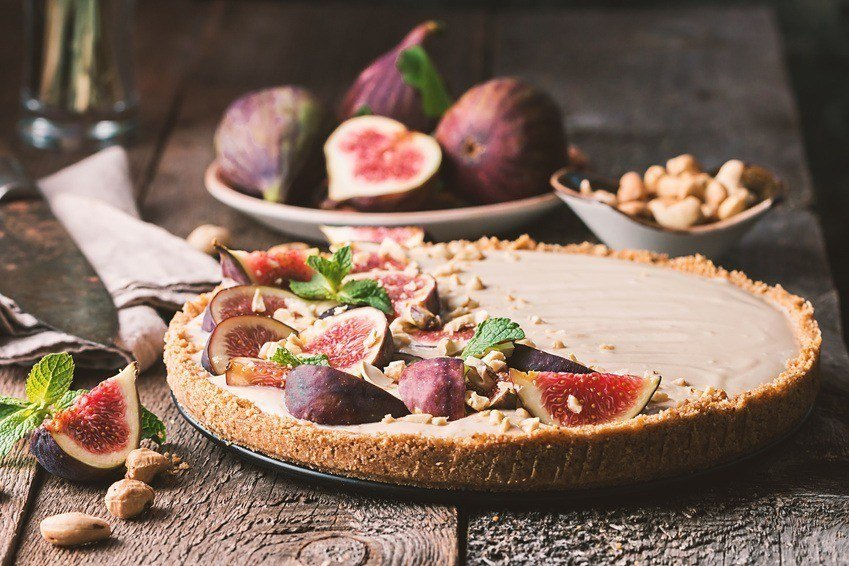 Raw Figen & Honning Tærte