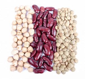 Top 10 bønner og linser med protein