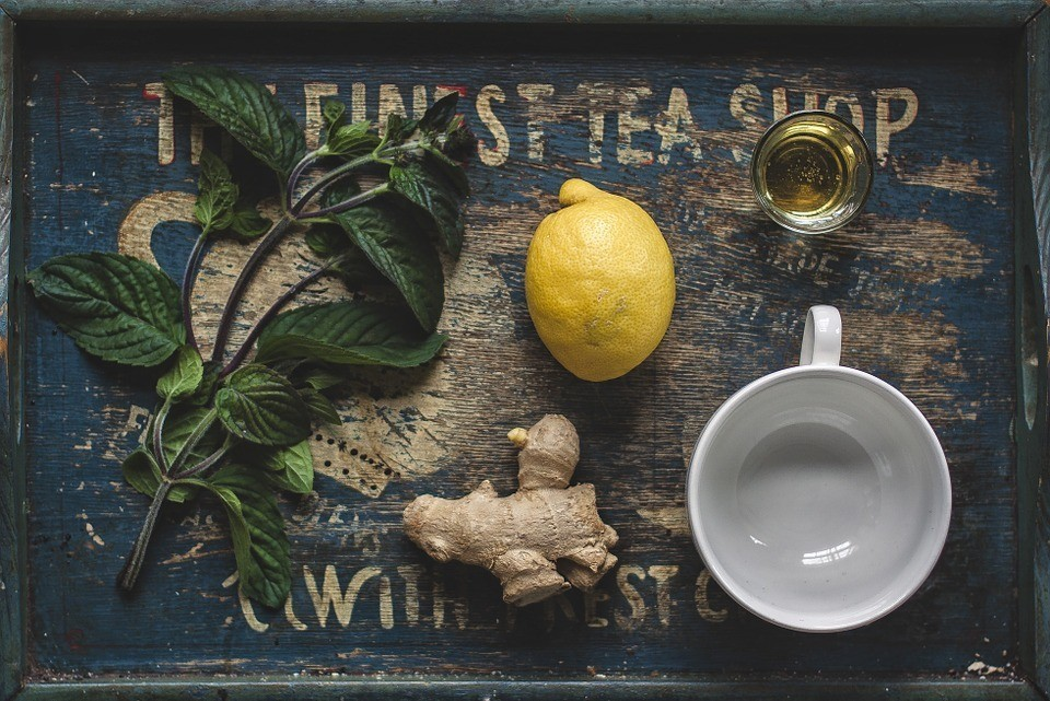 Mynte & Ingefær Te