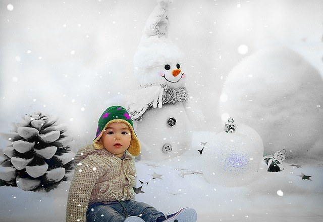 Pas På Dit Barn I Vinterkulden
