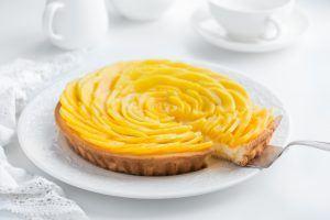 Mangotærte - Glutenfri og uden raffineret sukker