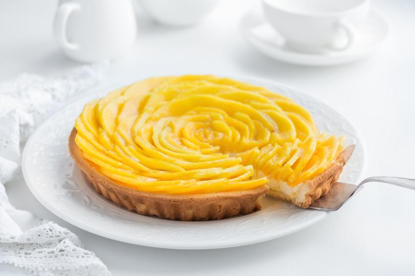Mangotærte – Glutenfri Og Uden Raffineret Sukker