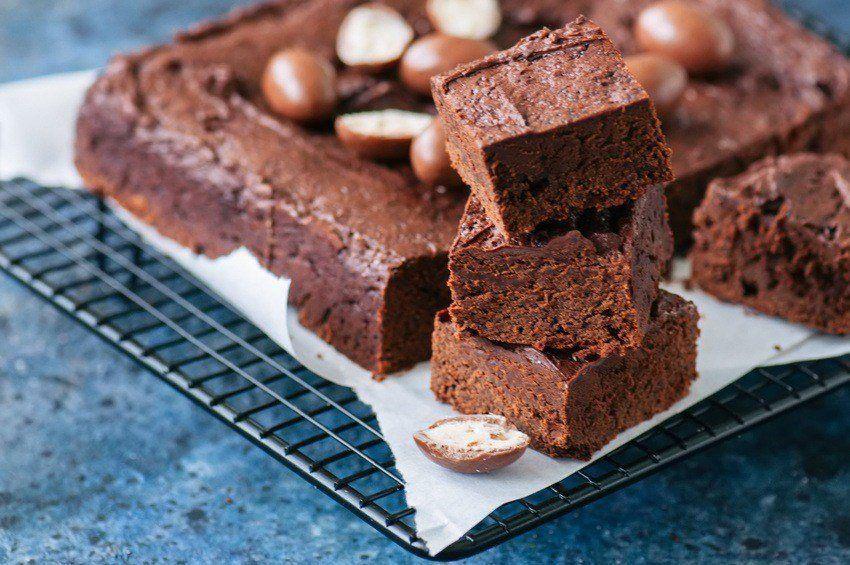 Sundere Brownie Med Sorte Bønner