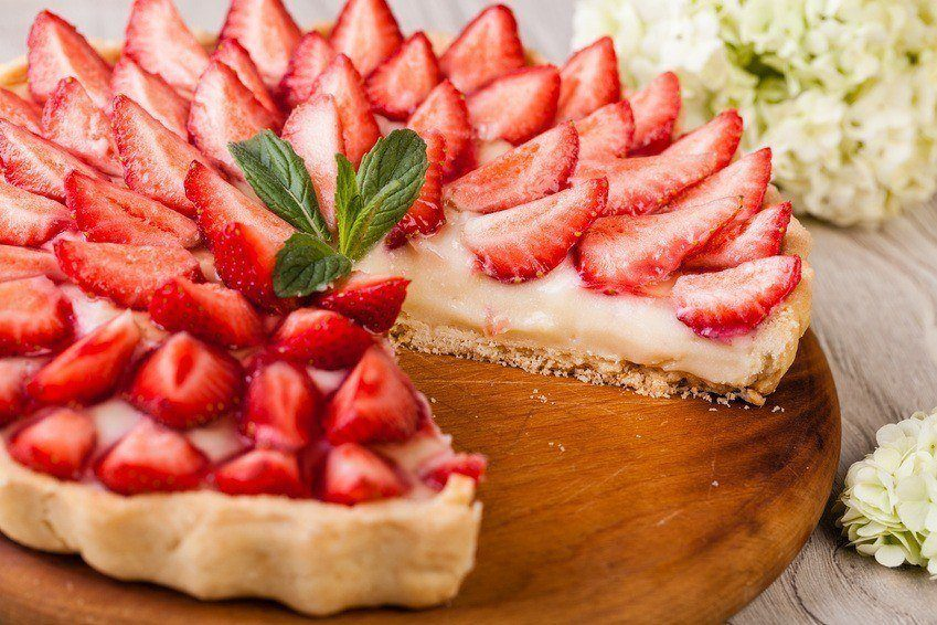 Sundere Jorbærtærte Uden Mel & Sukker
