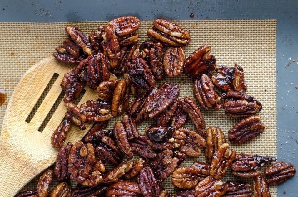 Honningristede Pekannødder