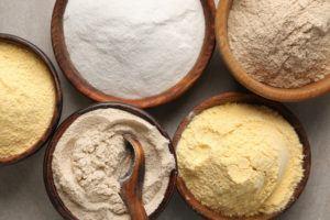 10 typer glutenfri mel!