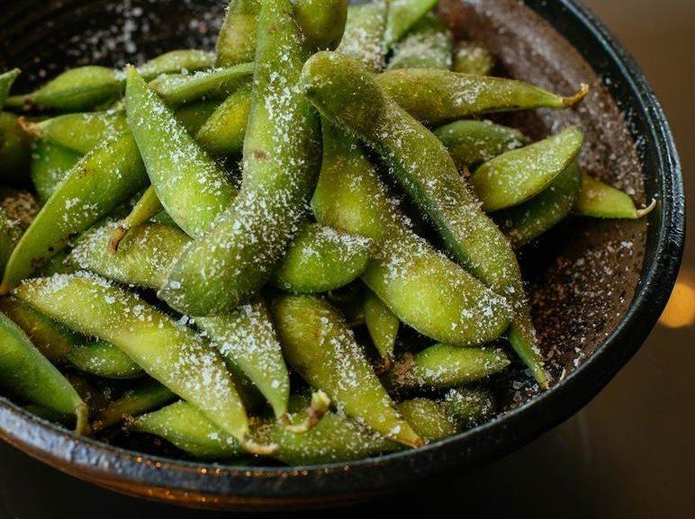 Spicy Edamamebønner