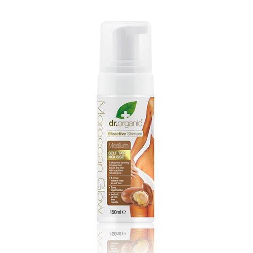 Image of Dr. Organic Moroccan Glow Selvbruner medium (150 ml)