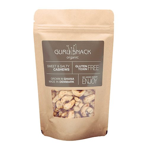 Image of Guru Snack Cashews Sweet & Salty (100 g)