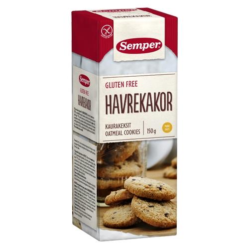 Image of Semper Havrekager Glutenfri (150 gr)