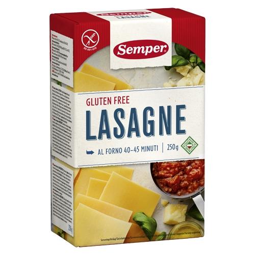 Image of Semper Lasagne Glutenfri (250 gr)