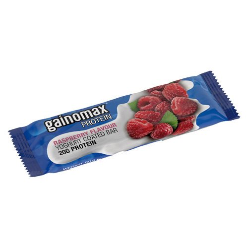 Image of Gainomax Proteinbar m. hindbær