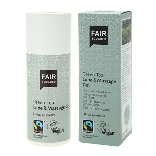 Image of FAIR SQUARED - Glidecreme og massage gel m. Grøn Te (150 ml)