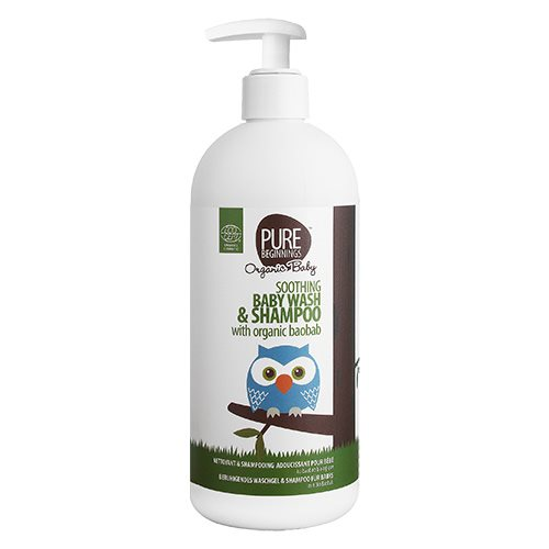 Image of PURE Beginnings - Soothing Baby Wash & Shampoo (500 ml)