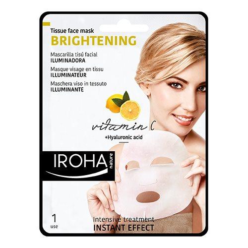 Iroha Nature Gesichtsintensivmaske Mit Vitamin C Und Hyaluronsäure
