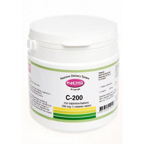 Image of NDS C-200 Vitamin (250 tab)