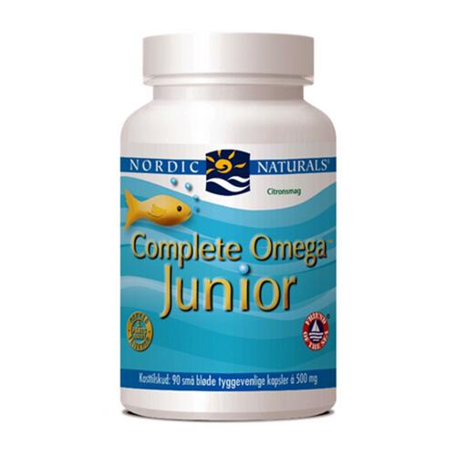 Image of Nordic Naturals Complete Omega Junior med citrussmag (90 kapsler)