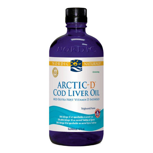 Image of Nordic Naturals Artic-D Cod Liver Oil (473 ml)