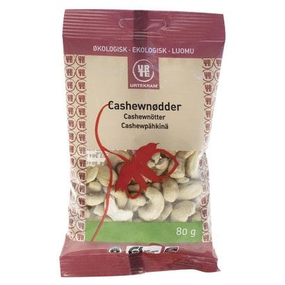 Urtekram cashewnødder fra Helsebixen