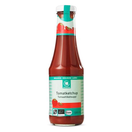 Urtekram ketchup fra Helsebixen