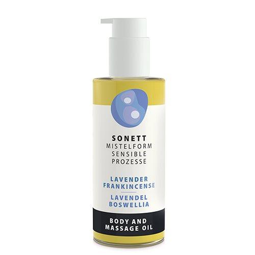 Sonett Krops & Massageolie Lavendel/ Boswelia (145 ml)