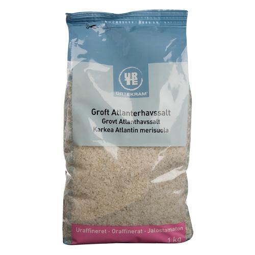 Urtekram Grov Atlanterhavsalt (1 kg)