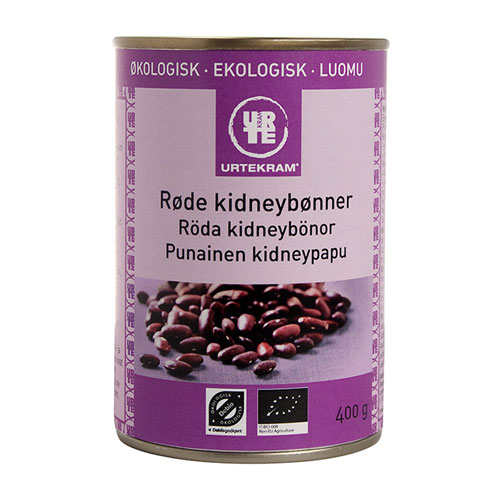Urtekram Kidneybønner Røde Ø (400 gr)