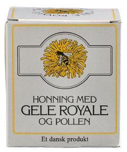 Image of Honning med Gele Royale og Pollen (250 g)