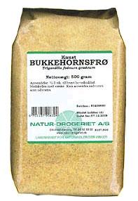 Image of Natur Drogeriet Bukkehornsfrø Knuste (500 gr)