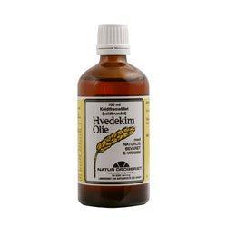 Image of Natur Drogeriet Hvedekimolie 100% Ren Koldtvundet (100 ml)