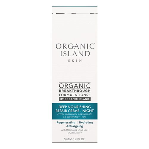 Image of Organic Island Night cream repair deep nourishing (50 ml)