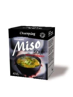 Image of Clearspring Instant Miso Soup - with Sea Vegetable Ø (40 gr.)