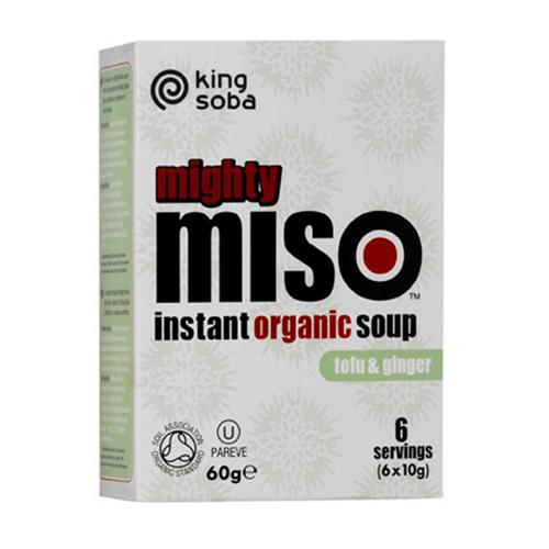 Image of Instant Miso suppe Tofu og Ingefær Ø 60 gr.