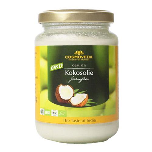 Cosmoveda kokosolie fra Helsebixen