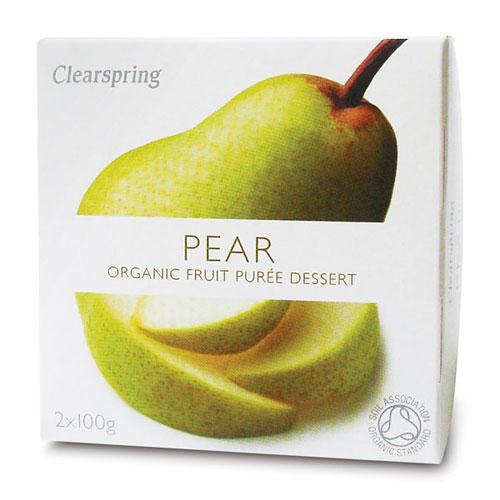 Image of Clearspring Organic Frugtpuré Pære Ø (200 gr)
