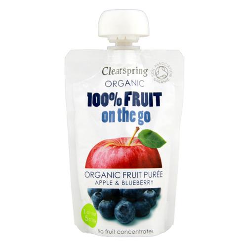 Image of Æble/ Blåbær Fruit On The Go Ø (100 gr)