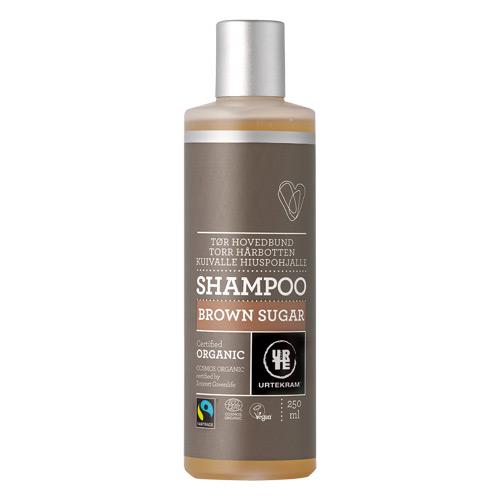 Image of Urtekram Shampoo T. Tørt Hår Brown Sugar (250 ml)