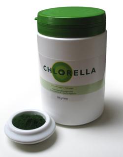 Chlorella Algomed pulver (350 gr)