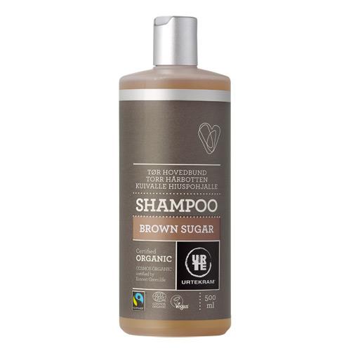 Image of Urtekram Brown Sugar Shampoo til Tørt Hår (500 ml)